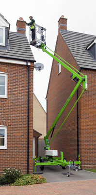 Cherry picker for Hire from Anglian High Access, remove moss from roof