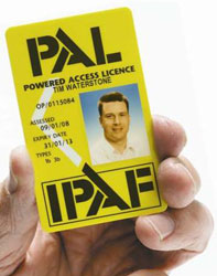 Anglian High Access are IPAF certified